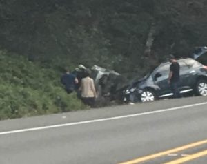 Crash on 101 near Painter Country Girl photo