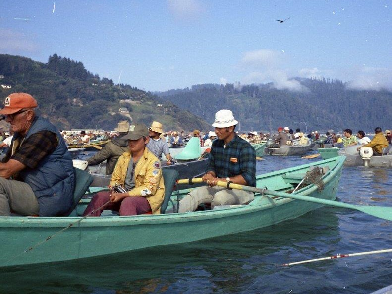 This is how it looked on the Klamath in 1972 The kid in the middle is probably now in his late-50s. Duncan Campbell