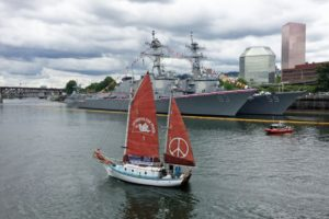 Golden Rule Peace Boat To visit Newport Sept. 25 Courtesy photo