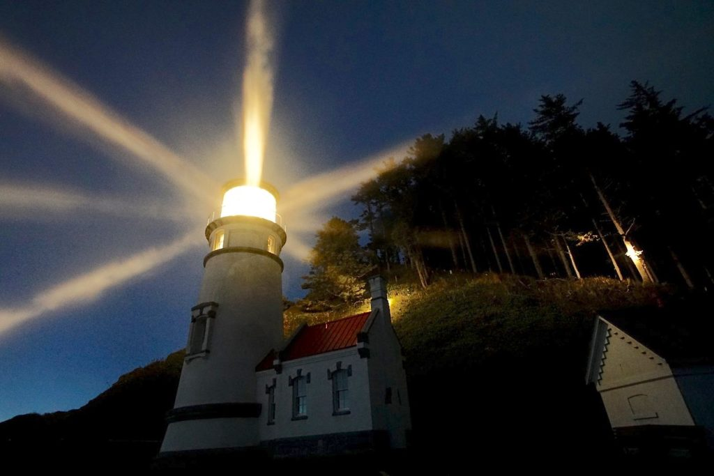 Besides reading the stars to navigate at sea, mariners also need these things - Heceta Head Lighthouse