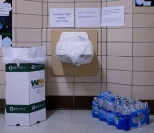 Lead levels in our nation's schools.  Very high in many areas.