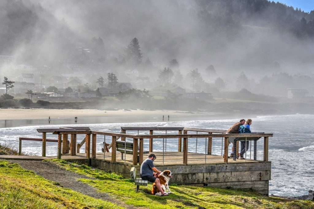 Fall in the air in Yachats Ken Gagne