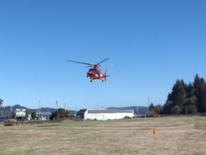 REACH lifts off with the victim aboard headed for a valley trauma center.