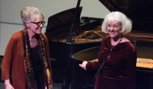 Mary Lee Scoville and Jessica Treon (Piano)