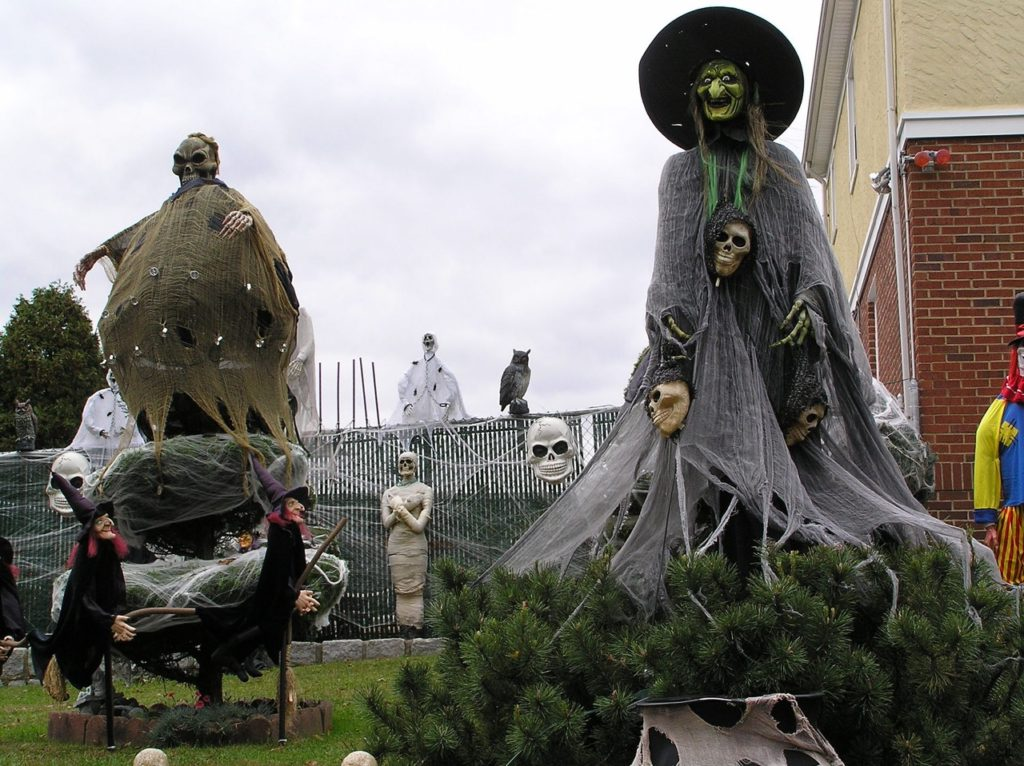 Halloween is approaching.  Let NLC.com know if you're planning a haunted house so we can tell everyone.