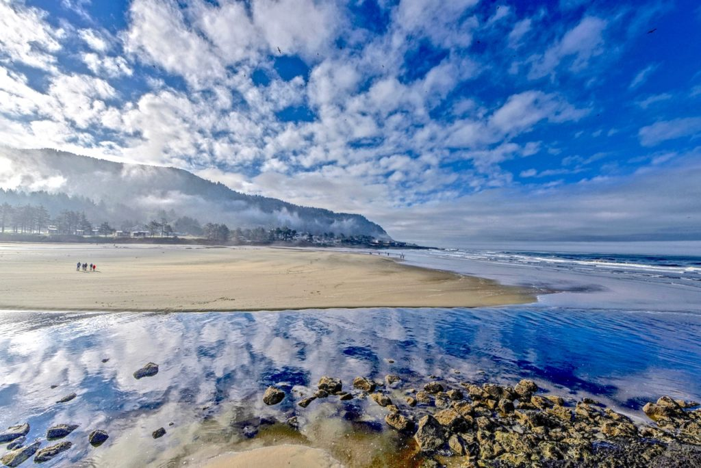Yachats River meets the sea... Ken Gagne