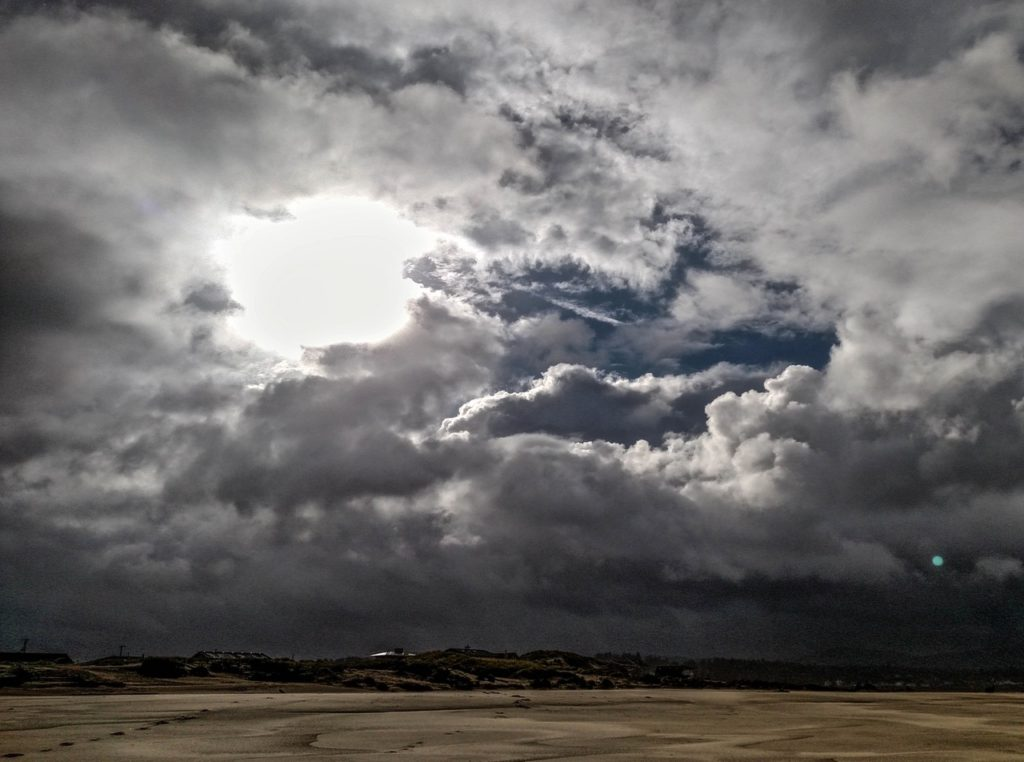 Gathering storm over the Bayshore area of Waldport Jeff Cox