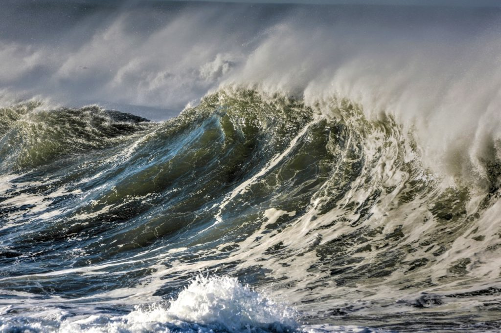 The Old Man of the Sea seldom speaks.  He mostly waves.... Ken Gagne