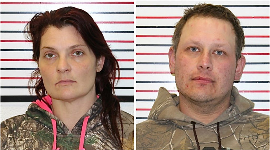 Adeena Copell (L) and Christian Wilkins (R) Suspects in murder of Newport man last month