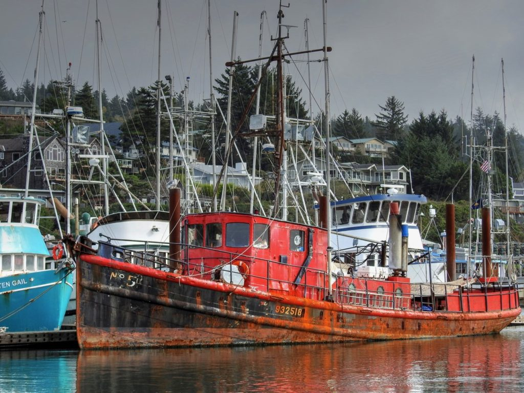 Between fishing trips and seasons ken gagne at port of for Lincoln city fishing charters