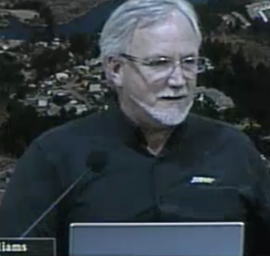 "Mayor Don Williams Threatens to jail meeting ""disrupters."""