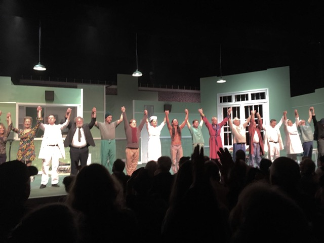 Standing ovation for One Flew Over the Cuckoo's Nest at the PAC. Next two weekends.