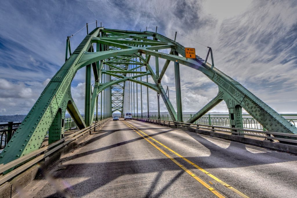 Yaquina Bay Bridge On a lovely day in Newport. Ken Gagne photo