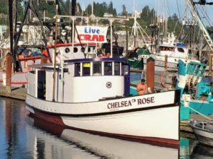 F/V Chelsea Rose Headed for her last round up of salmon...