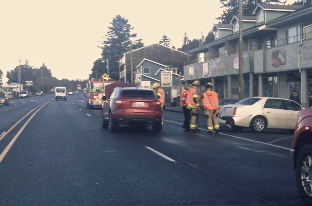 Depoe Bay, 101 @ Collins Traffic moving again