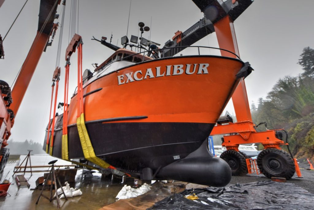 The Excalibur is all set to go back to work...