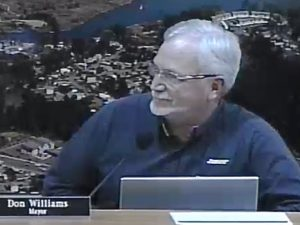 Mayor Don Williams Lincoln City