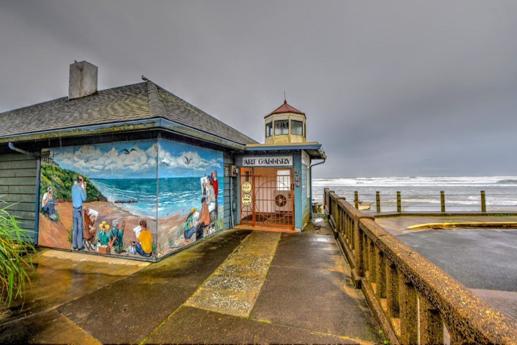 A must-see art gallery at the Nye Beach turnaround... Ken Gagne