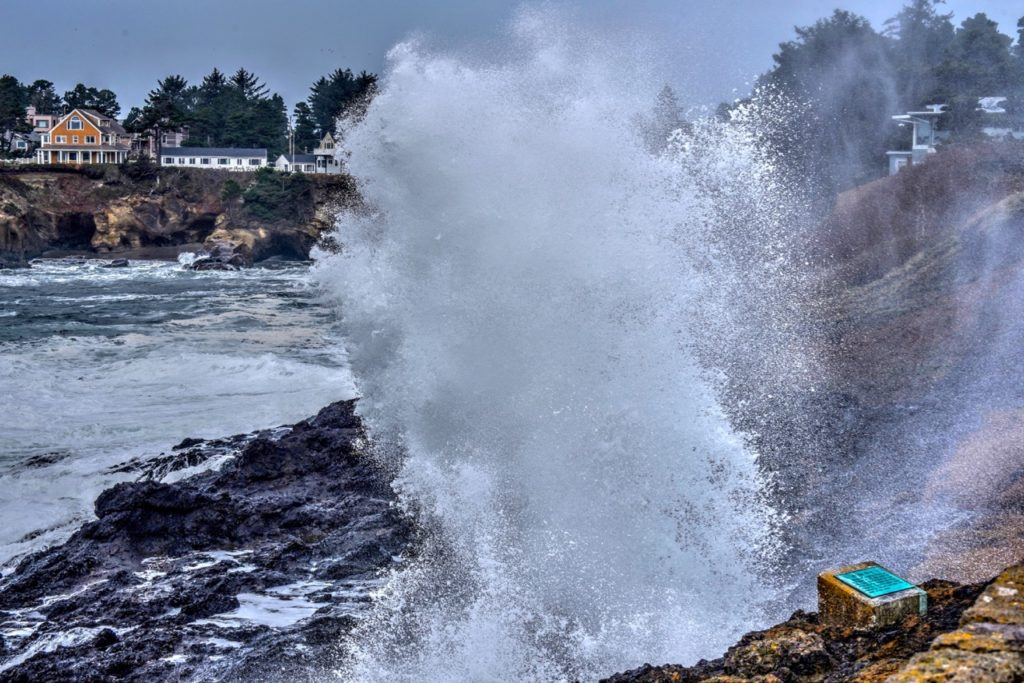 Spouting Horn in Depoe Bay doing its thing Ken Gagne