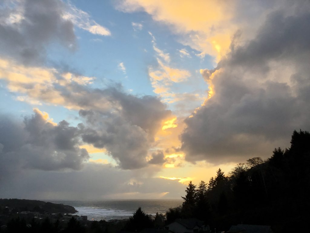 Depoe Bay Sunset Jean Marlock photo