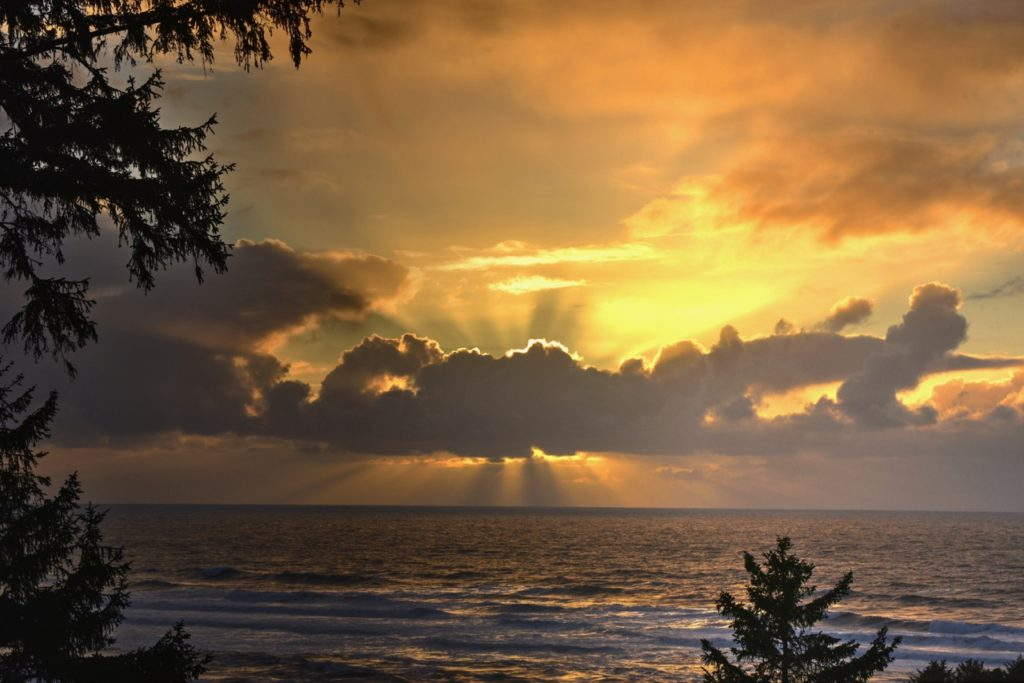 Yachats Sunset Beats what's been offered over the last week! Ken Gagne