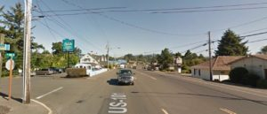 Pedestrian hit and killed at Nw 26th and 101 Friday evening. Google Maps Archive