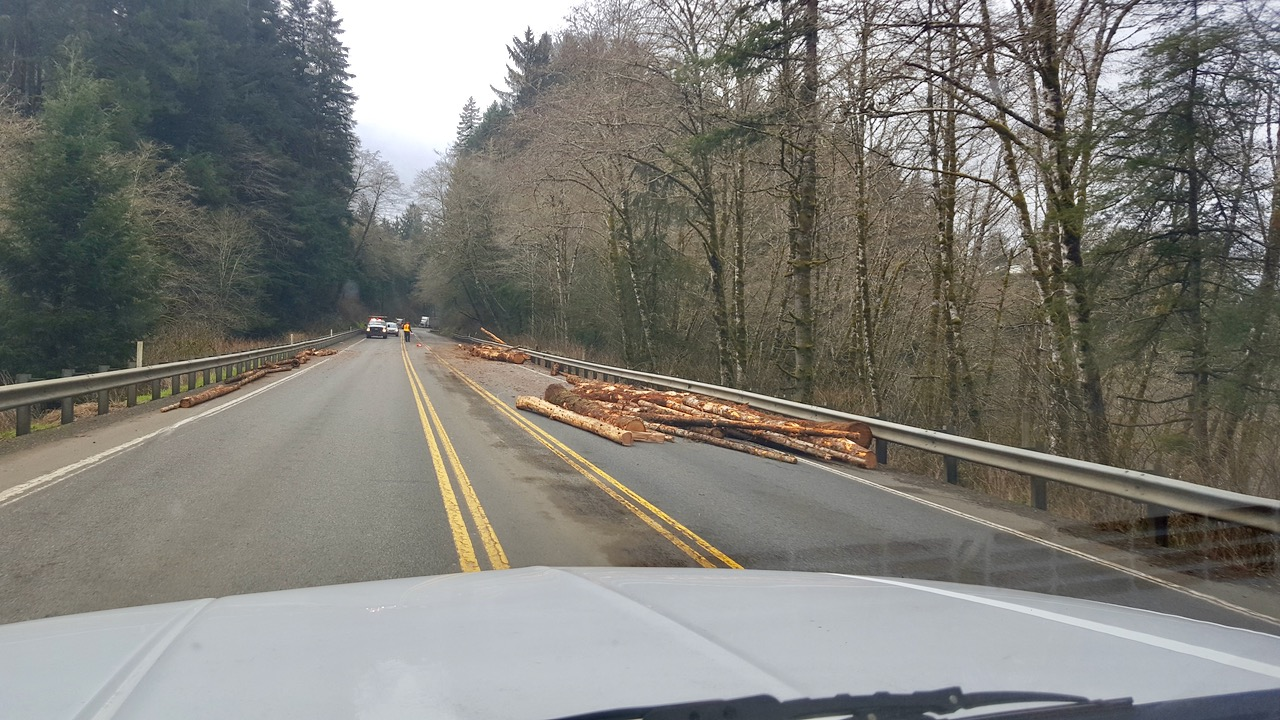 Log truck accident two miles east of Newport on Highway 20 | News